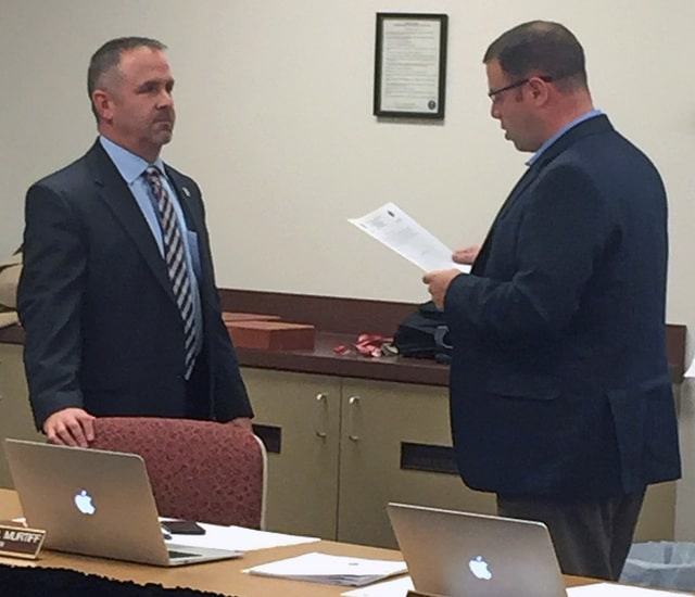 BUCYRUS— The Bucyrus City School District Board of Education held its  annual organizational meeting and regular monthly meeting Monday.