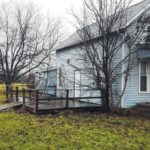 House for sale by the Galion Police Department