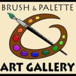Brush and Palette art show this weekend