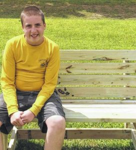 Galion City Schools gets eight benches from senior Jeran Pfeifer