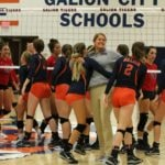 Gallery:  Galion Volleyball vs Pleasant.  Photos by Erin Miller