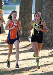 Gallery: Girls varsity race at Crawford County cross country meet; Photos by Don Tudor