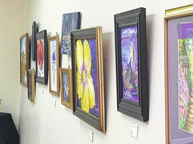 Erin Miller | Galion Inquirer Brush and Palette Art Gallery in uptown Galion features art by its club members as well as local artisans.