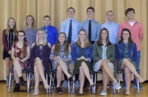 Colonel Crawford Homecoming Court