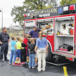 Galion firefighters on a teaching mission this week