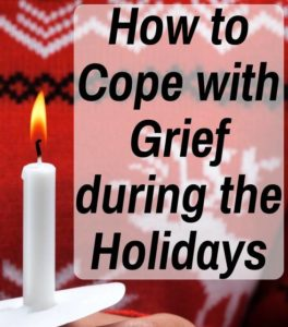 Nov. 9 program about dealing with holiday grief