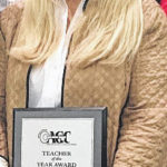 Galion resident earns teacher of the year award