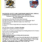 Youth wrestling tournament Oct. 28 at Northmor