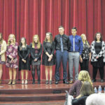 Twelve join National Honor Society at GHS