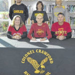 After graduation, Crawford's Chad Johnson will keep running at Iowa State