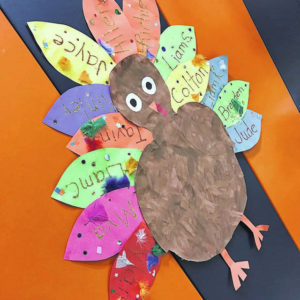 Galion students celebrate Thanksgiving
