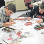 Galion High School students create art projects with heart