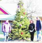 Tree decorated in memory of Long-time City of Galion worker Mert Lenhart