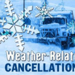 Lots of events cancelled today, Saturday