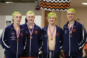 Gallery: Galion and Colonel Crawford Swimming at District 2 Meet 1-16-18. Photos by Erin Miller.