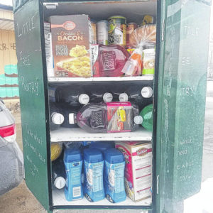 Galion woman has a different food pantry idea