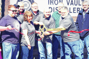 Iron Vault Distillery, another addition to uptown Galion, open for business