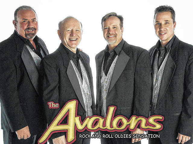 Courtesy photo The Avalons, a band with a focus on early rock 'n' roll, comedy and crazy antics is coming to north central Ohio on April 12, courtesy of the Crawford County Community Concert Association.