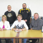 Northmor boys' basketball trio announce college choices
