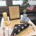 Lest we forget: Missing Man Table a reminder of those who didn't return