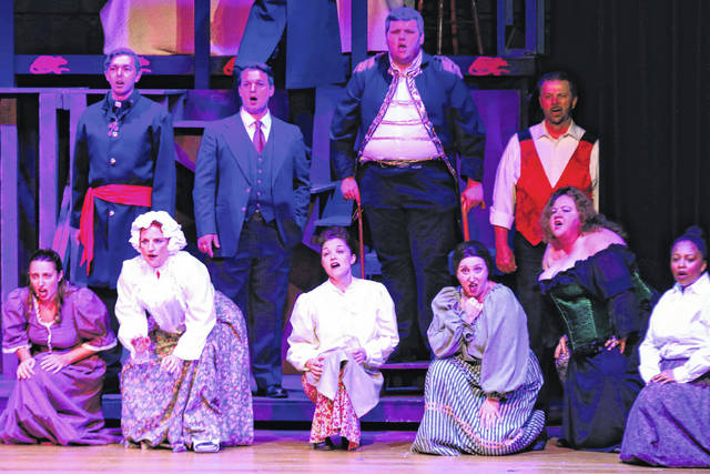 """Erin Miller   Galion Inquirer Casts and crew of """"Jekyll and Hyde the Musical"""" just completed a two-week run of the popular show at Galion Community Theatre. """"Newsies, the Broadway Musical"""" is up next for the theatre. Showtimes and dates for Newsies are July 27 at 8 p..m.; July 28 at 2 and 8 p.m.; July 29 at 2 p.m. The show is based on the 1992 motion picture and inspired by a true story. It features a Tony Award-winning score by Alan Menken and Jack Feldman and features the classic songs """"Carrying the Banner,"""" """"Seize the Day,"""" and """"Santa Fe."""" Newsies is packed with non-stop thrills and is perfect for the whole family and every audience.This production is being performed by actors between the ages of 10 and 20."""