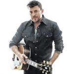 Country talent Levi Riggs at Crawford County Fair on July 17