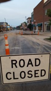 Harding Way West repairs underway, water will be shut off this morning for area residents, businesses
