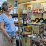 Galion woman's antique toys, games on display in Mount Gilead