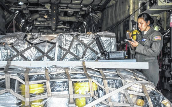 Photo courtesy Ohio National Guard Members of the 179th Airlift Wing provided support last year after a hurricane ravaged parts of the Caribbean.
