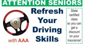 Council on Aging announces driving course for senior citizens