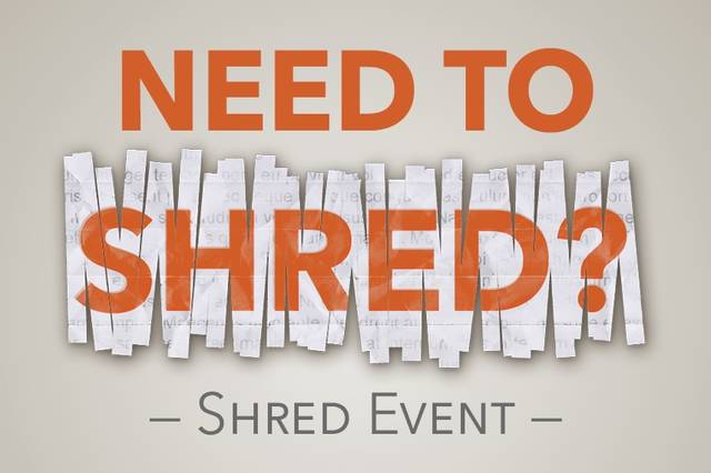Got stuff to shred? Bring it to Galion chamber office Friday