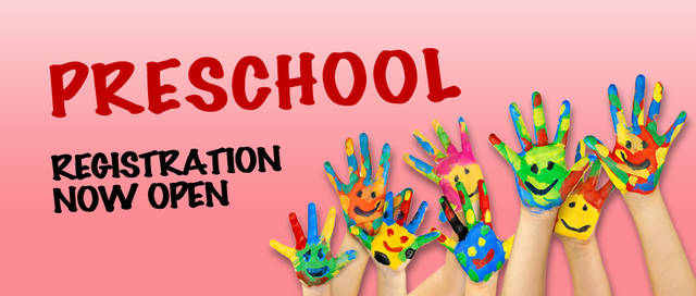 Image result for preschool registration 2019-2020